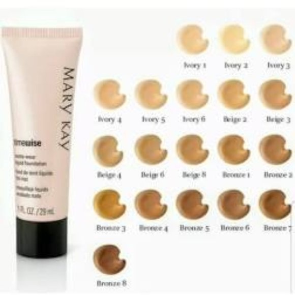 BRONZE 8 MATTE-WEAR FOUNDATION